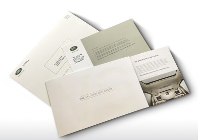 Land Rover Discovery Direct Mailer