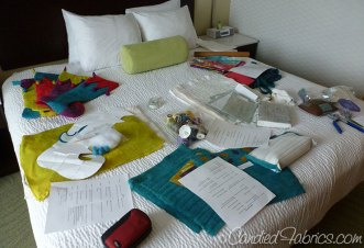 Quilting Arts TV Season 13: Prepping step-outs in the hotel