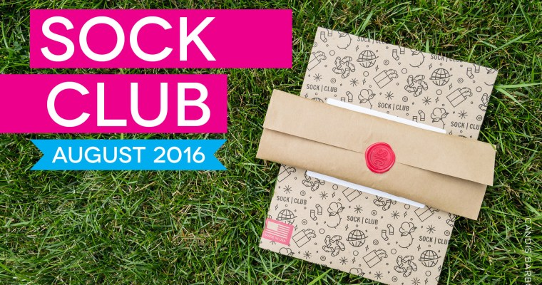 Sock Club Review | August 2016