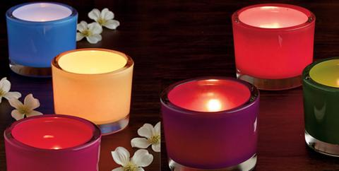 make candle holders out of flammable material