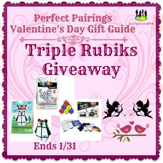 Triple Rubiks #Giveaway Ends 1/31 #SMGN
