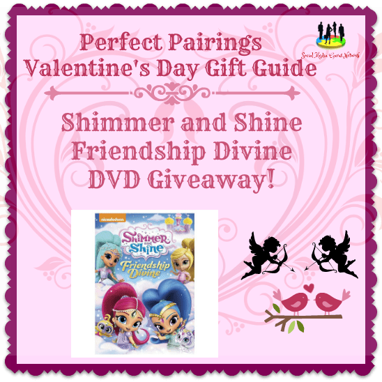 Shimmer and Shine: Friendship Divine! DVD #Giveaway Ends 2/14 #SMGN