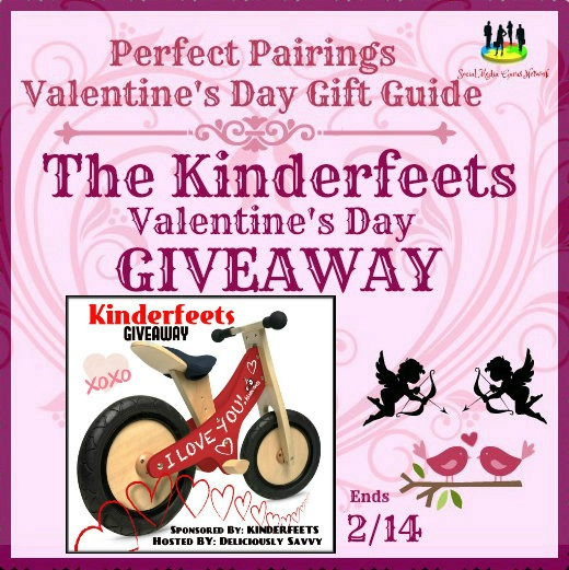 The Kinderfeets Valentine's Day #Giveaway Ends 2/14 #SMGN