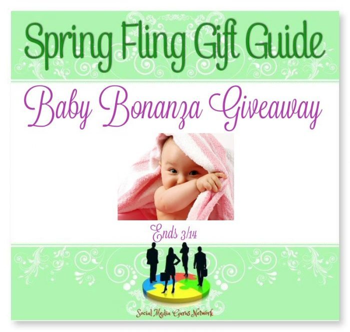 Spring Fling Gift Guide Baby Bonanza #Giveaway Ends 3/14