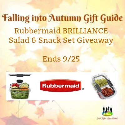 Rubbermaid Brilliance Salad & Snack Set #Giveaway Ends 9/25