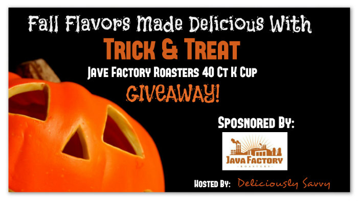 Fall Flavors Made Delicious With Trick & Treat Java Factory Roasters Giveaway Ends 10/31
