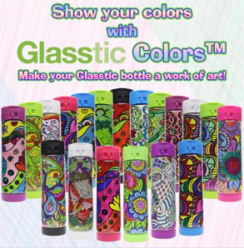 The Glasstic Shatterproof Water Bottle Valentine's Day #Giveaway 3 Winners Ends 2/14