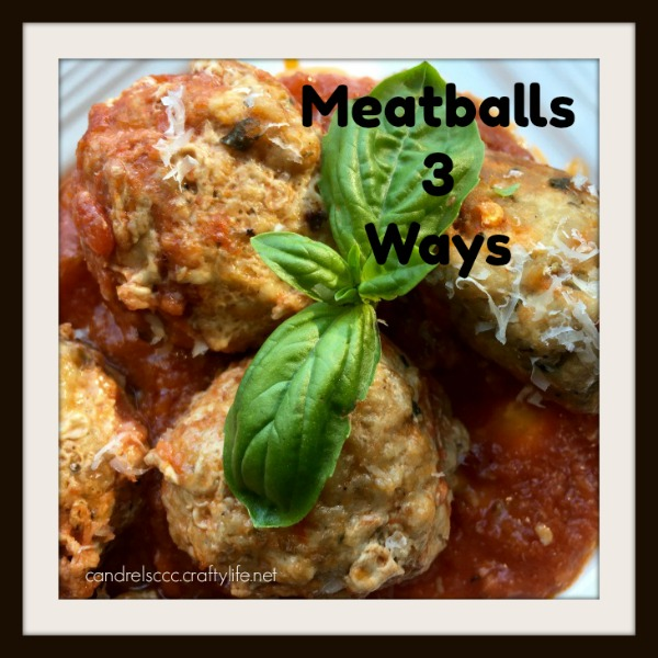 3 different and tasty ways to make meatballs for your next get-together or meal at home.