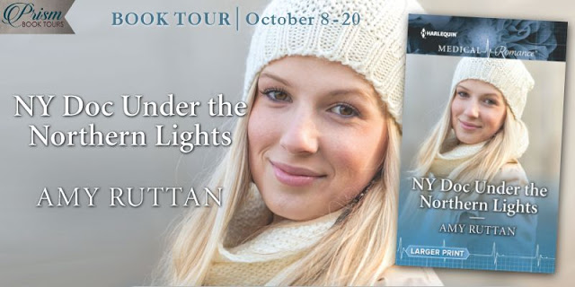 Book Tour Grand Finale NY Doc Under the Northern Lights by Amy Ruttan with Giveaway