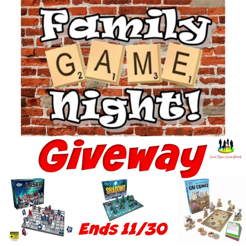 Family Game Night #Giveaway Ends 11/30