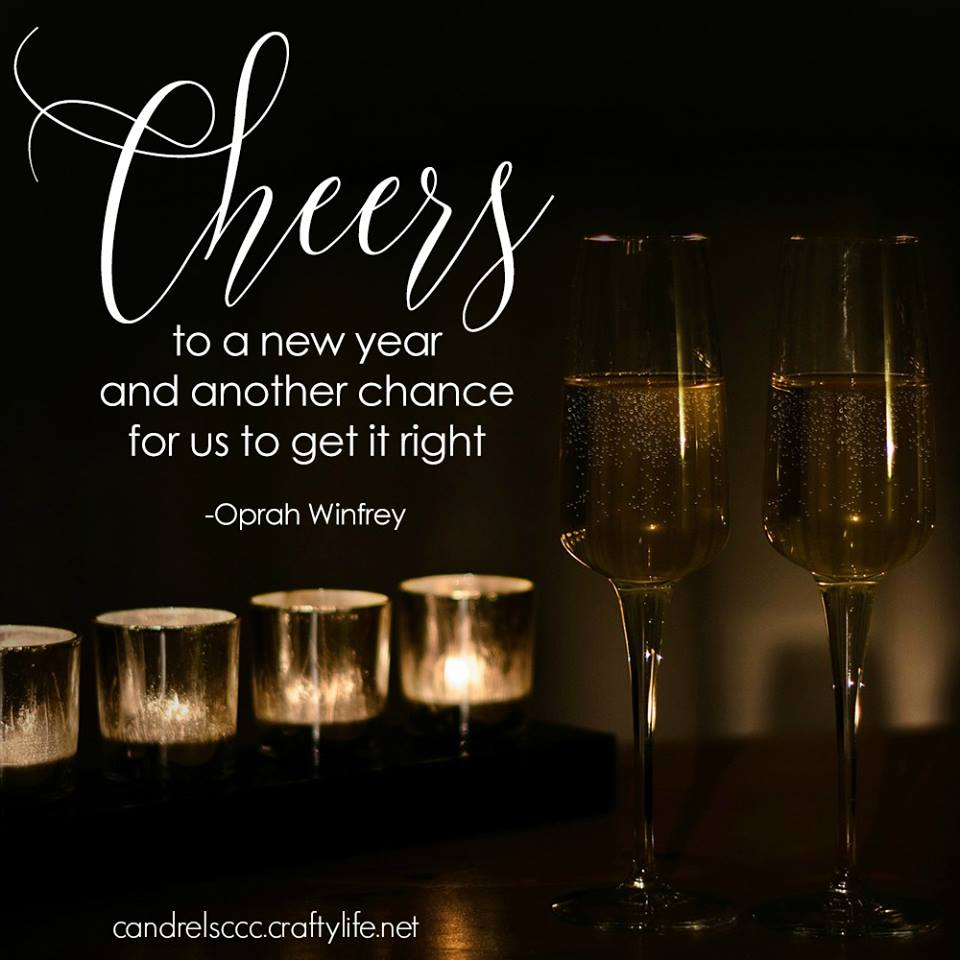 Cheers to a new year…