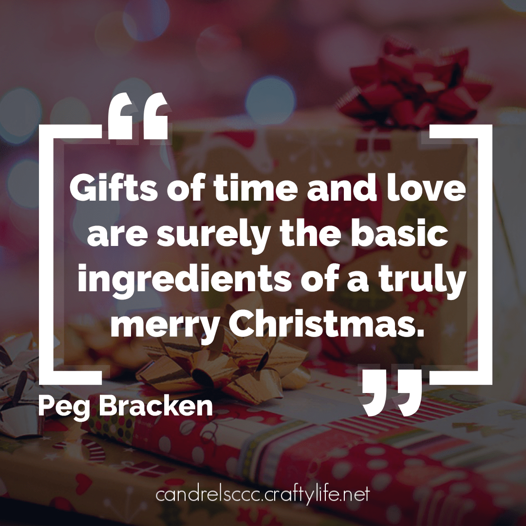 Gifts of time and love are …