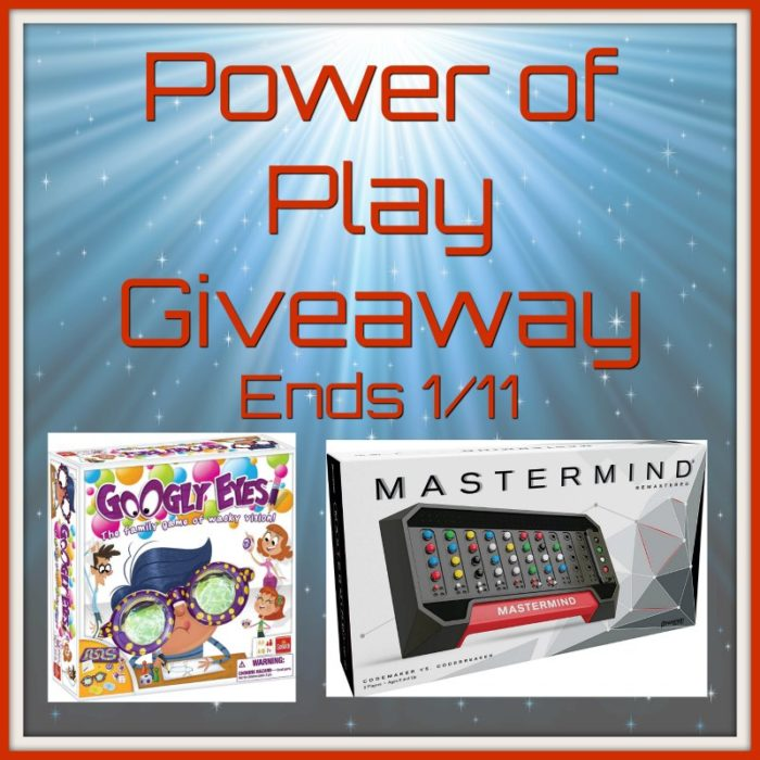 Power of Play #Giveaway Ends 1/11