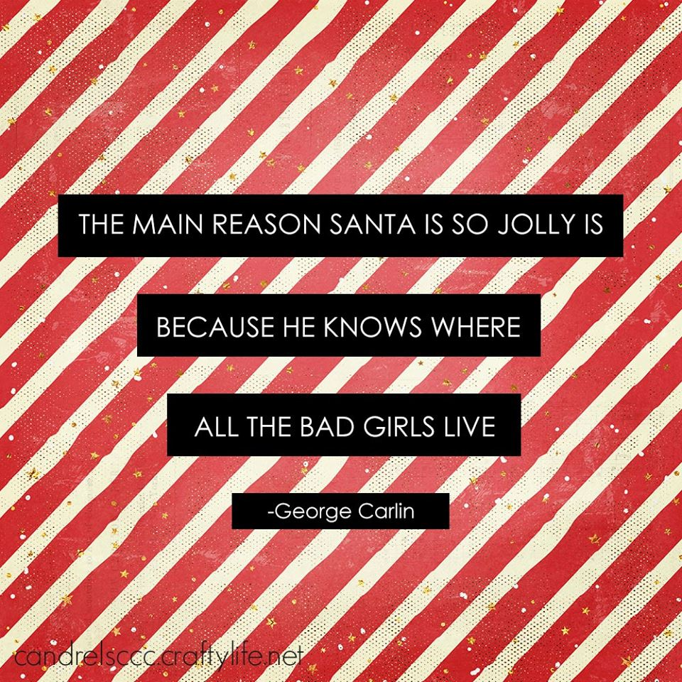 The main reason Santa is so jolly …