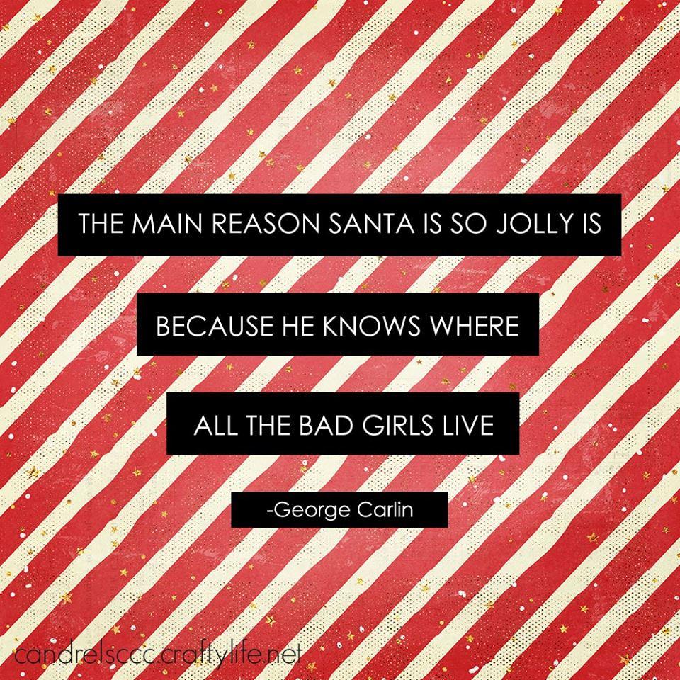 The main reason Santa is so jolly …