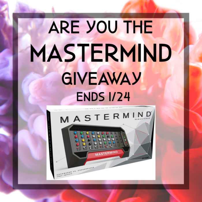 Are You the Mastermind #Giveaway Ends 1/24