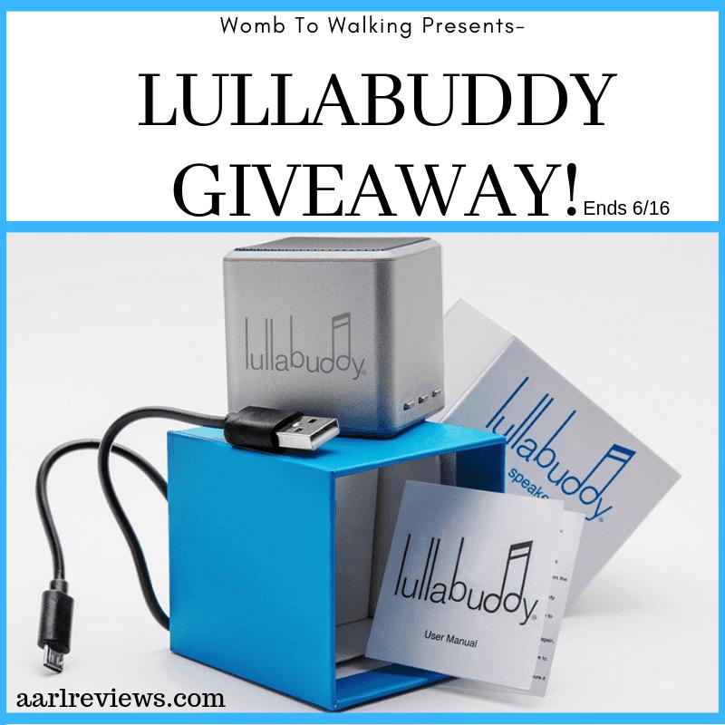 Lullabuddy Bluetooth Speaker Giveaway Ends 6/16