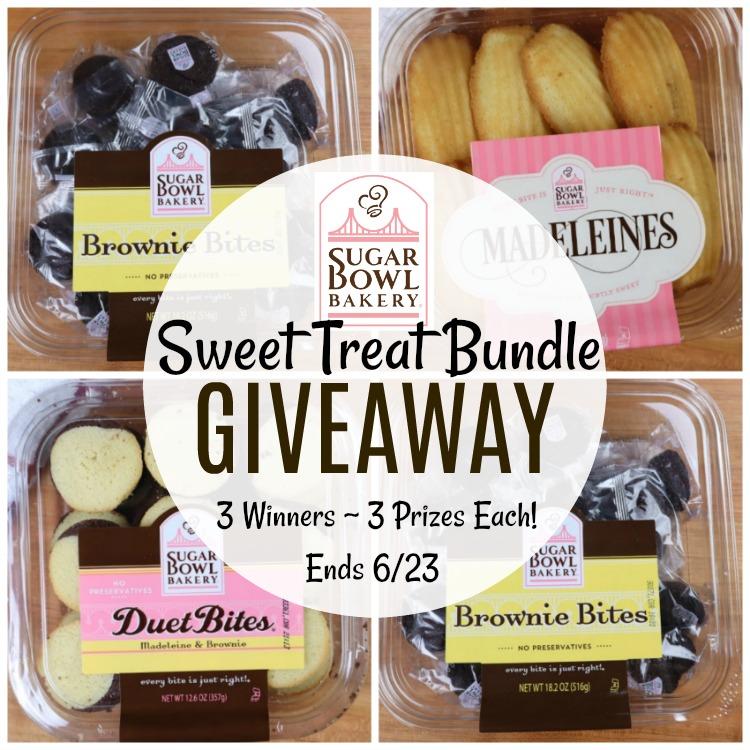 Sugar Bowl Bakery Sweet Treat Bundle #Giveaway ~ 3 Winners! Ends 6/23 @SugarBowlBakery @SMGurusNetwork