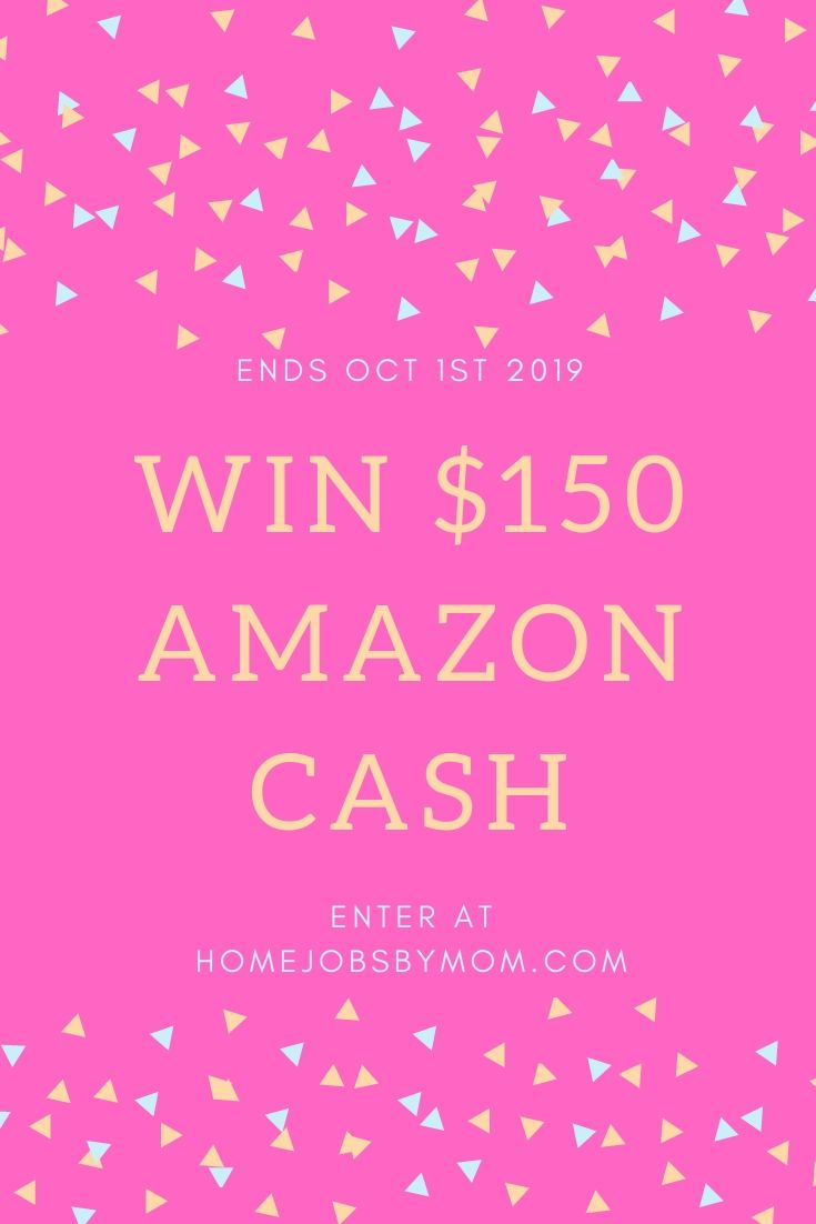 $150 Amazon #Giveaway Ends 10/1 @homejobsbymom #spreadtheword #giveaways