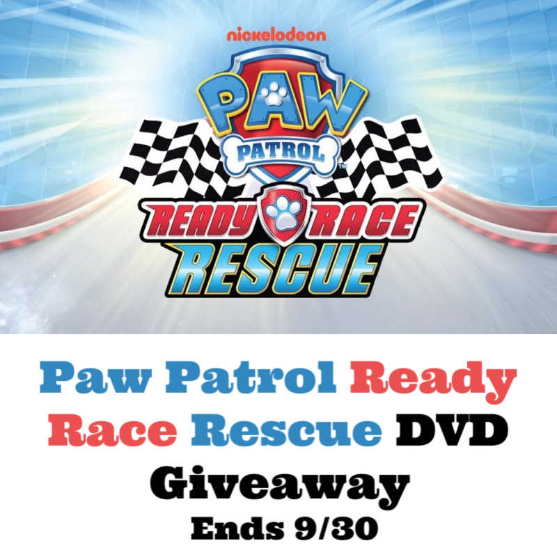 #PawPatrol Ready Race Rescue DVD #Giveaway Ends 9/30 @Nickelodeon @s8r8l33