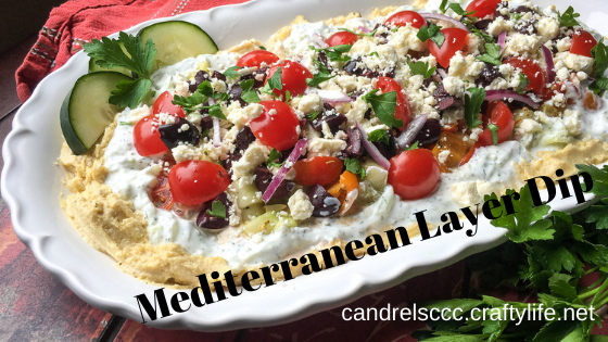 Mediterranean Layer Dip (with Gluten-Free Suggestions)