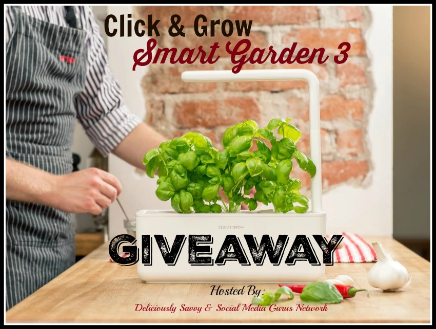Enter the @clickandgrow Smart Garden 3 #Giveaway Ends 10/31 @SMGurusNetwork