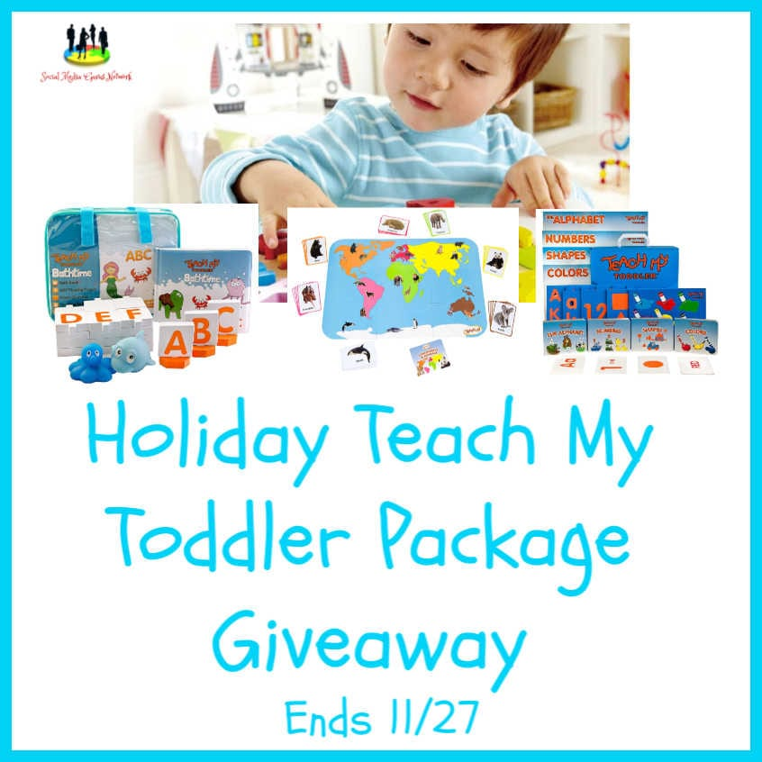 Holiday @teachmyTeach My Toddler #Giveaway Ends 11/27 @SMGurusNetwork @las930