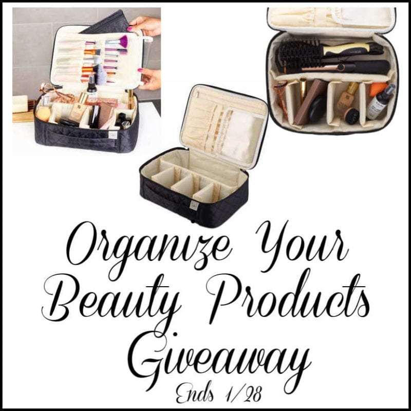 Organize Your Beauty Products #Giveaway Ends 1/28 @SMGurusNetwork @las930
