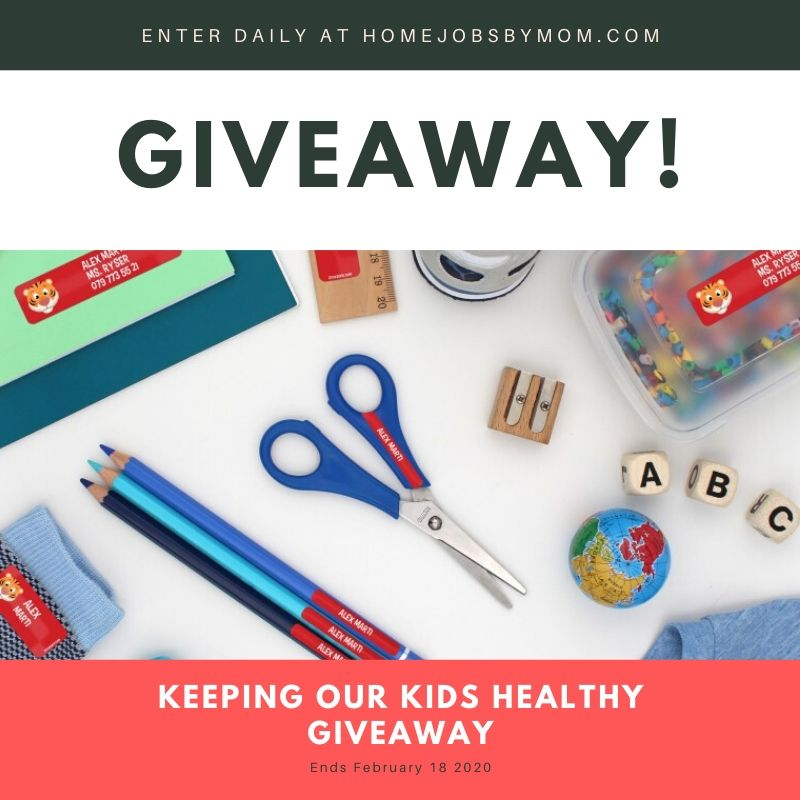 Keeping Our Kids Healthy #Giveaway Ends 2/18 #LOVE20 @StickerKidUSA @HomeJobsByMom @SMGurusNetwork