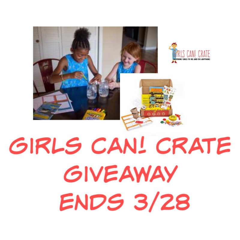 Enter the @GirlsCanCrate #Giveaway Ends 3/28 @las930