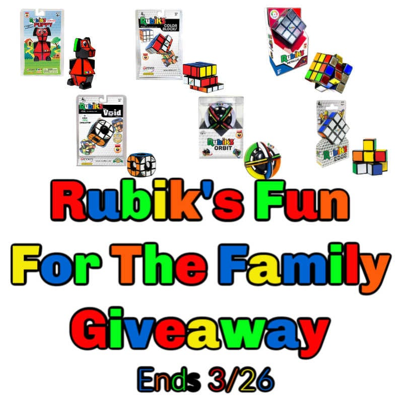 Rubiks Fun for the Family #Giveaway Ends 3/26 @WinningMovesUSA @las930