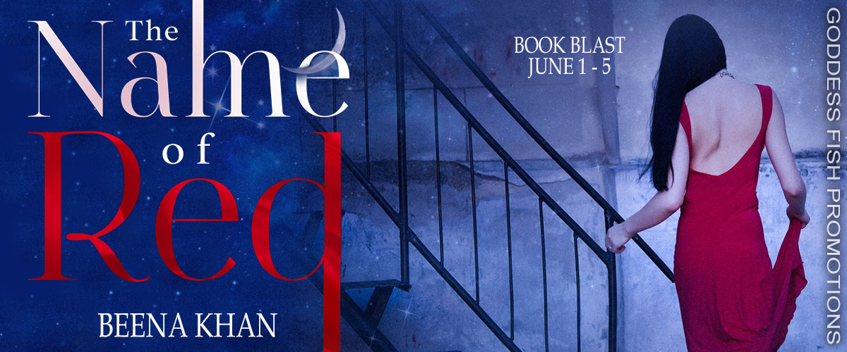 #BookBlast The Name of Red by Beena Khan with #Giveaway