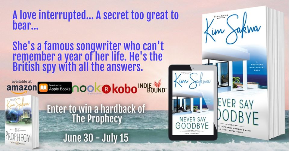 Never Say Goodbye (Brothers Montgomery Series Book 1) by Kim Sakwa with #Giveaway