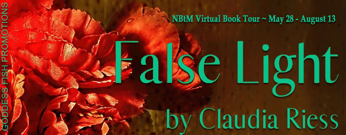 #Interview with Claudia Riess, author of False Light with #Giveaway