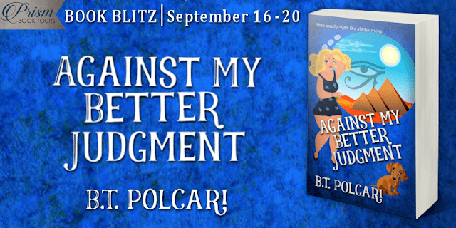 #BookBlitz Against My Better Judgment by B.T. Polcari #AJPrism
