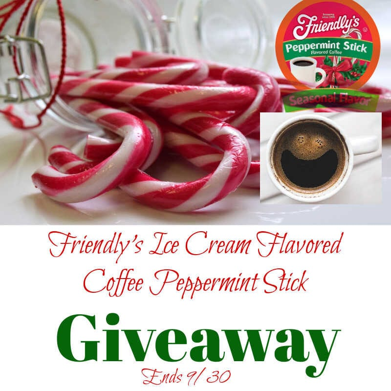 Friendly's Ice Cream Flavored Coffee Peppermint Stick #Giveaway Ends 9/30 @las930