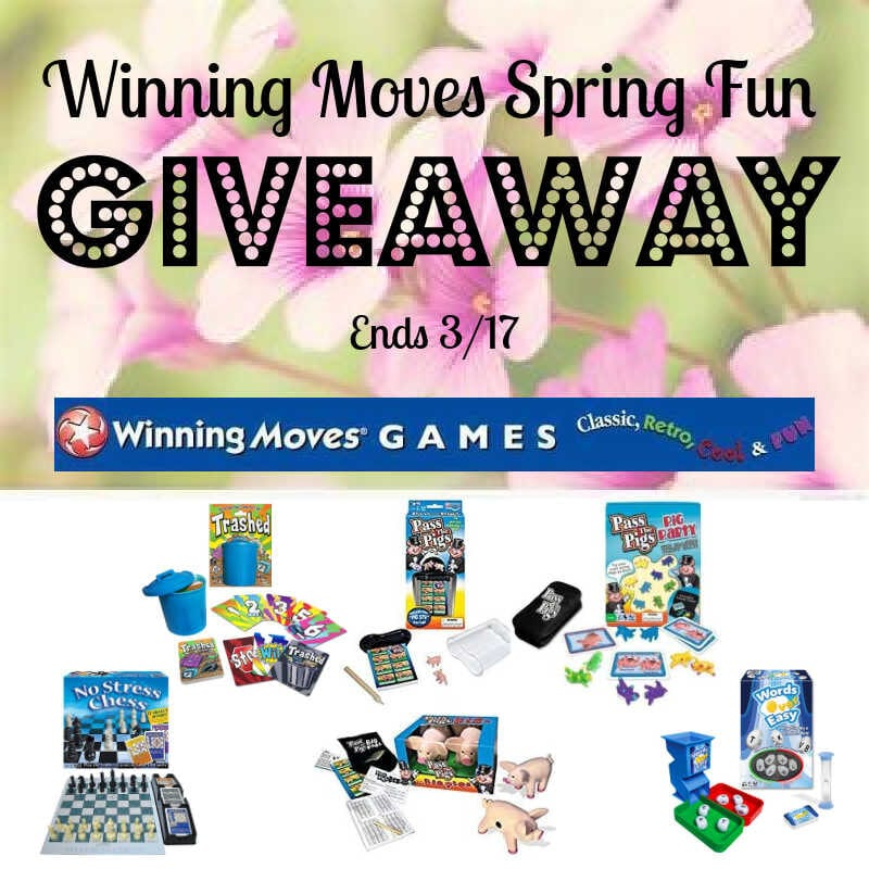 Winning Moves Spring Fun #Giveaway Ends 3/17 @WinningMovesUSA @las930