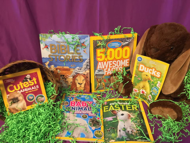 Enter to @marksvilleandme National Geographic Easter Basket Prize #Giveaway Ends 3/30