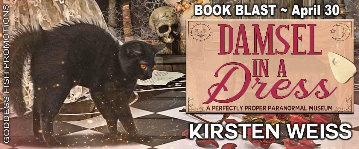 #BookBlast Damsel in a Dress by Kirsten Weiss