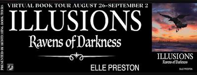 #BookBlast Illusions: Ravens of Darkness by Elle Preston