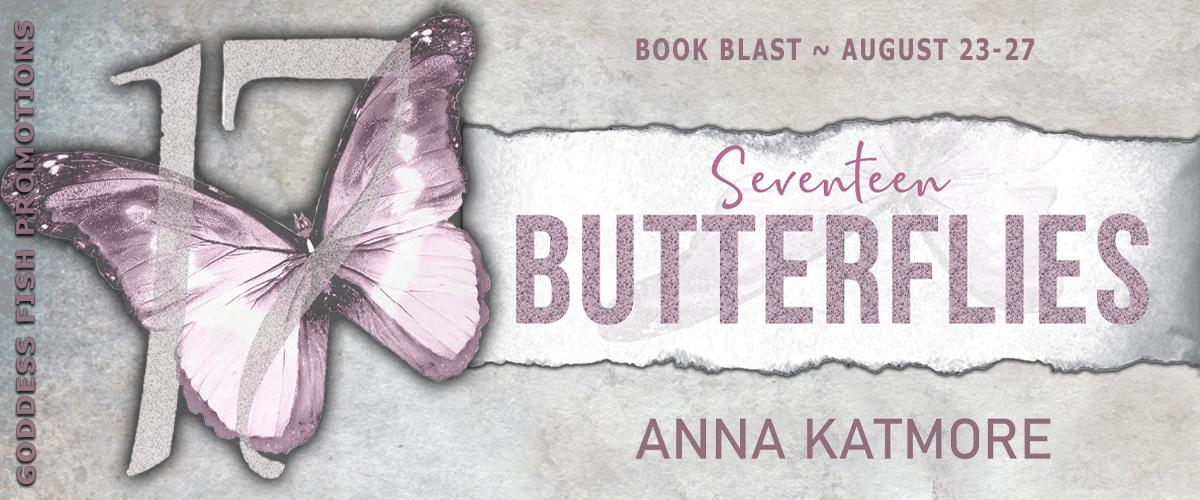 #BookBlast Seventeen Butterflies by Anna Katmore