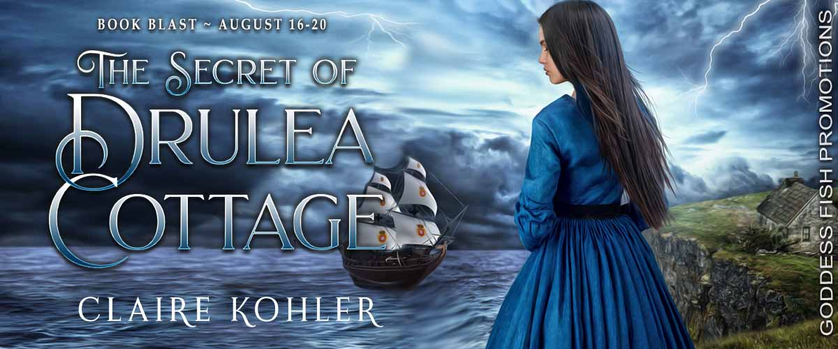 #BookBlast The Secret of Drulea Cottage by Claire Kohler with #Giveaway