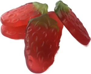 Haribo Giant Strawberries The Candy Cabin Traditional Online Sweet Shop