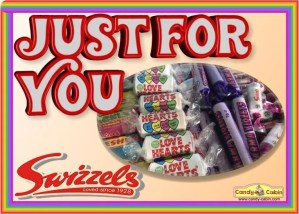 Just For You Swizzels Hamper Candy Cabin Traditional Sweet Shop