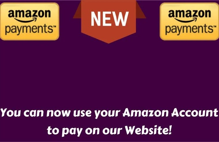 We now accept Amazon Pay