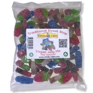 Vegan Jelly Mix - Sour Selection - The Candy Cabin Traditional Online Sweet Shop