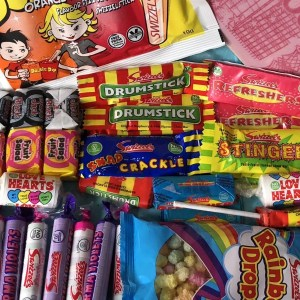 Retro Sweet Hamper Candy Cabin Traditional Online Sweet Shop