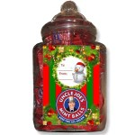 Uncle Joe's Mint Balls Gift Jar Santa Candy Cabin Traditional Online Sweet Shop