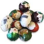 Milk Chocolate Christmas Foil Balls Candy Cabin Traditional Online Sweet Shop