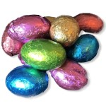 Chocolate Foil Eggs - The Candy Cabin Traditional Online Sweet Shop